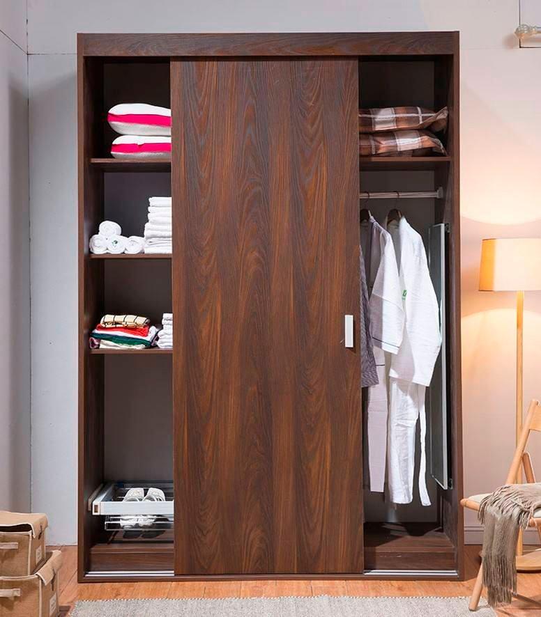 Modern Style Melamine Ply Wood Material Wardrobe