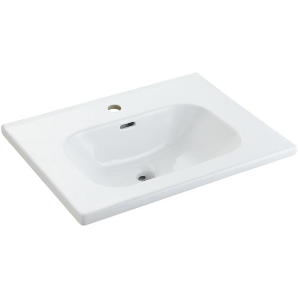 TONO series ceramic basin for cabinet