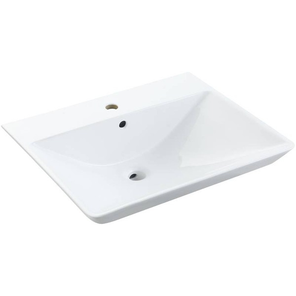 BONITA series ceramic basin for cabinet